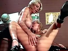 Hot lezzie get licking from teacher